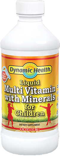 Vloeibare multi-vitamine & mineralen voor kinderen 8 fl oz (237 mL) Fles