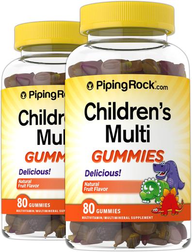 Żelki multiwitaminowe dla dzieci 80 Żelki