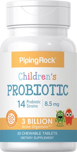 Probiotyki do żucia dla dzieci 30 Tabletki do żucia