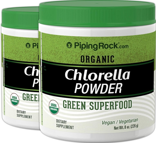 Chlorella Powder(Organic) 8 oz x 2 Bottles