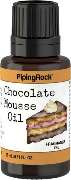 Aceite con fragancia de mousse de chocolate 1/2 fl oz (15 mL) Frasco con dosificador