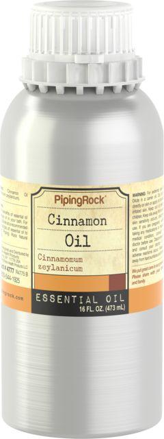 Kanelbarkolie 100 % ren æterisk olie 16 fl oz (473 mL) Dåse