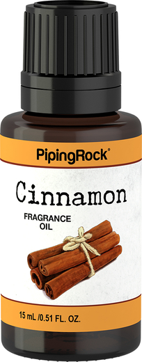 Cinnamon Fragrance Oil, 1/2 fl oz (15 mL) Dropper Bottle