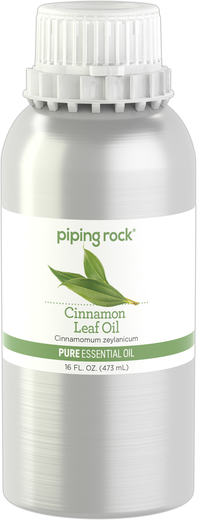 Cinnamon Leaf Pure Essential Oil (GC/MS Tested), 16 fl oz (473 mL) Canister
