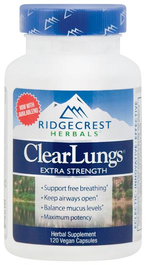 Czyste płuca, wzmocnione działanie 120 Kapsułki
