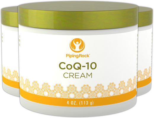 Co Q10 Cream 3 Jars x 4 oz (113 g)