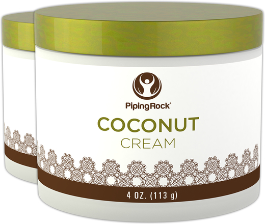 Coconut Beauty Cream 4 oz (113 g) Jar