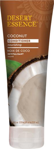 Kokos-hårbalsam - tørt hår 8 oz (237 mL) Rør