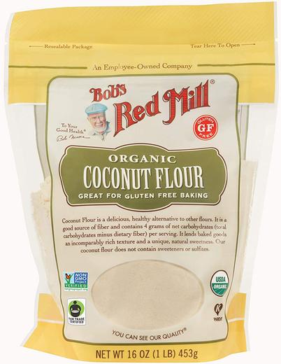 Coconut Flour (Organic), 16 oz