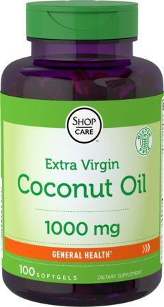 Aceite de coco orgánico (virgen extra)  100 Perlas