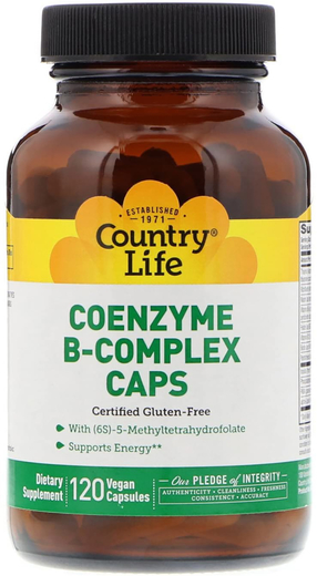Coenzyme B-Complex Caps 120 Veg Caps