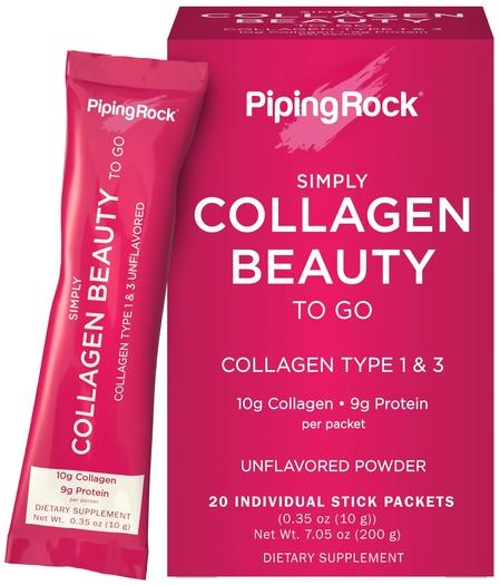 Collagen Beauty-to-Go Powder Stick Packs, 20 Sticks