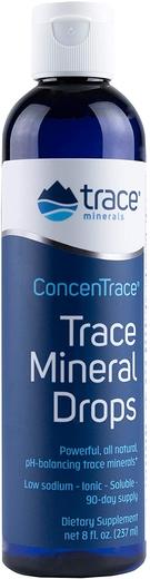 Krople z pierwiastkami śladowymi ConcenTrace 8 fl oz Butelka