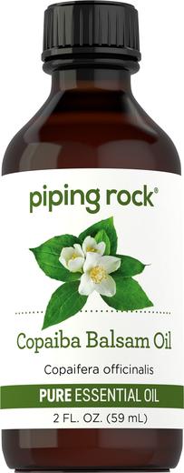 Olejek eteryczny o czystości z rośliny copaiba (balsam) (GC/MS Sprawdzono) 2 fl oz (59 mL) Butelka