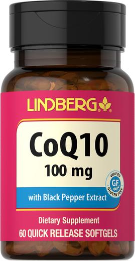 CoQ10 100 mg, 60 Softgels