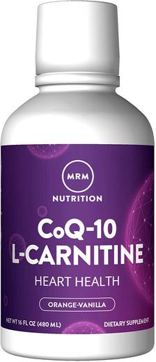 Koenzym Q10 z L-karnityną w płynie (pomarańcza i wanilia) 16 fl oz Butelka