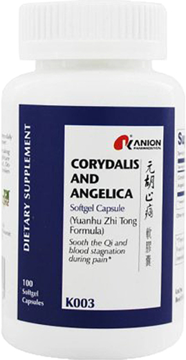 Corydalis and Angelica 100 Softgels
