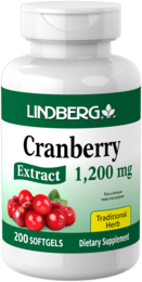 Cranberry Extract 1200 mg, 200 Softgels