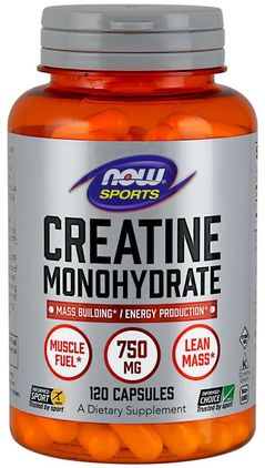 Monohidrato de creatina  120 Cápsulas