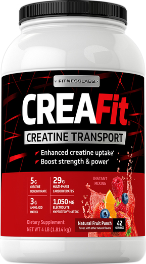 Owocowa moc kreatyny CreaFit 4 lb (1.814 kg) Butelka