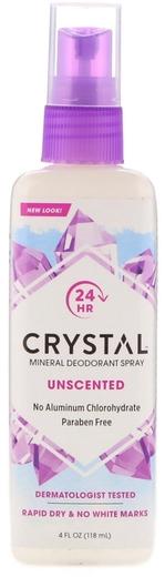Dezodorans u spreju od mineralnih kristala 4 fl oz (118 mL) Boca