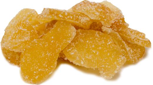 Gengibre cristalizado, 1 lb (454 g) Saco