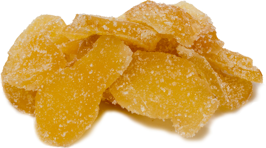 Crystallized Ginger Slices 1 lb Bag