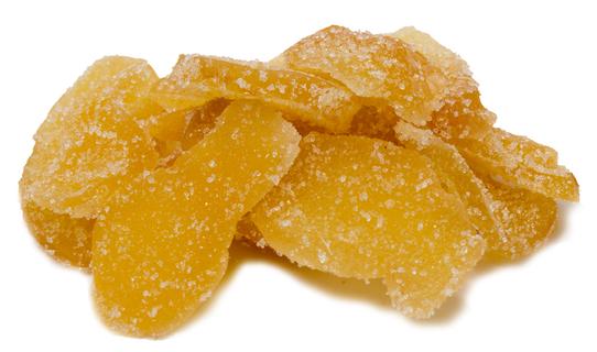 Gengibre cristalizado, 1 lb (454 g) Saco, 2  Sacos