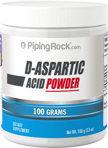 Kwas d-asparaginowy w proszku 100 g (3.5 oz) Słoik