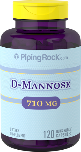 Cranberry D-Mannose 710 mg 2 Bottles x 60 Capsules