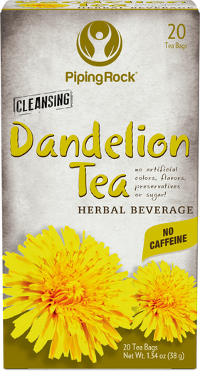 Dandelion Root Tea 20 Bags Piping Rock Health Products