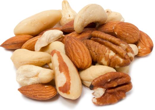 Deluxe gemengde noten rauw 1 lb (454 g) Zak