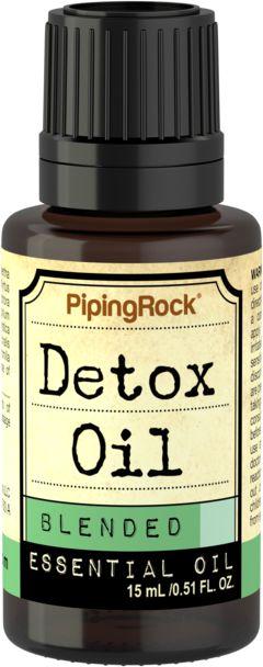 Óleo essencial desintoxicante, 1/2 fl oz (15 mL) Frasco conta-gotas