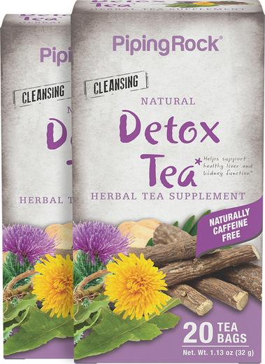 Detoksyfikacyjna herbata ziołowa 20 Torebki do herbaty
