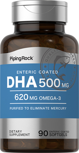 DHA 500mg Enteric Coated 90 Softgels