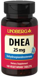 DHEA 25 mg, 100 Vegetarian Tablets