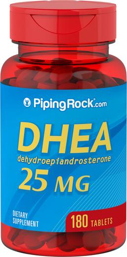 DHEA , 25 mg, 180 Comprimidos