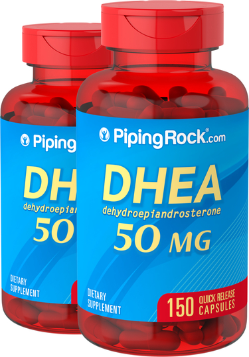 DHEA, 50 mg, 2 x 150 Capsules