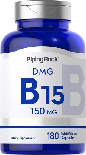 Wapno z kwasem pangamowym (B-15)(DMG) 180 Tabletki wegetariańskie