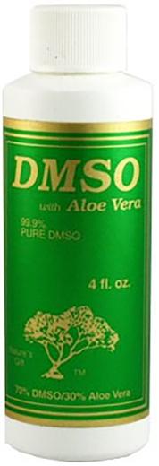 蘆薈二甲基亞碸  4 fl oz (118 mL) 酒瓶