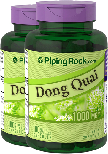 Dong Quai 1000 mg Pills 2 Bottles