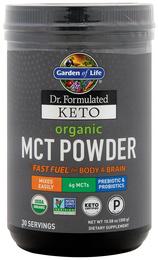 MCT w proszku Dr. Formulated Keto (Organiczna) 10.58 oz (300 g) Butelka