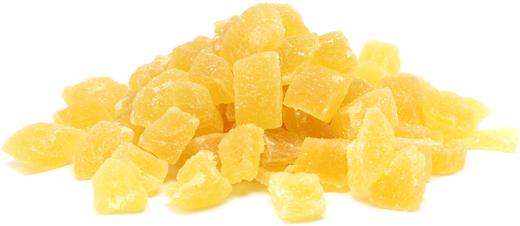 Suszony ananas (w kawałkach) 1 lb (454 g) Torebka