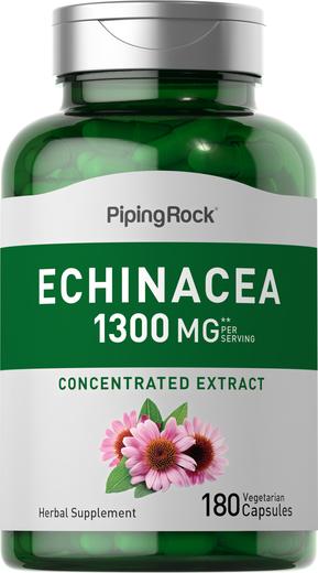 Echinacea 1300 mg (per serving), 180 Capsules