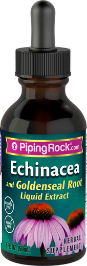 Echinacea & Goldenseal Liquid Extract 2 oz Alcohol Free