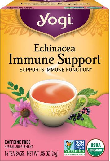 Herbatka z echinacei wspomagająca układ odpornościowy 16 Torebki do herbaty