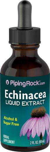 Echinacea Liquid Extract Alcohol Free, 2 fl oz (59 mL)