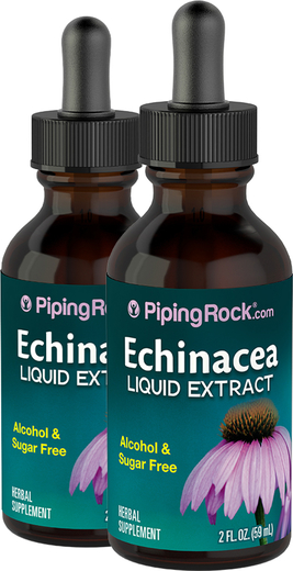 Płynny ekstrakt z echinacei Bez alkoholu  2 fl oz (59 mL) Butelka z zakraplaczem