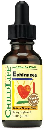 Children's Echinacea Liquid Extract (Natural Orange), 1 fl oz (29.6 mL)