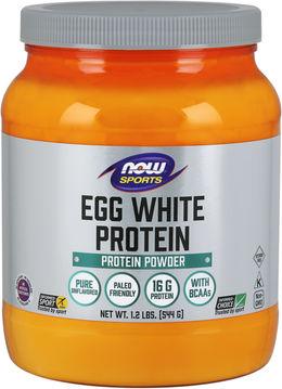 Proteína de la clara de huevo 1.2 lbs (544 g) Botella/Frasco